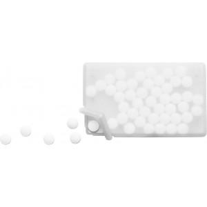 Mentolos cukorka, fehér