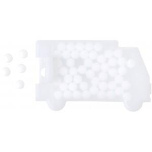 Cukorka-autó, fehér
