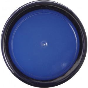 Cukorkatartó ajakbalzsammal, kék